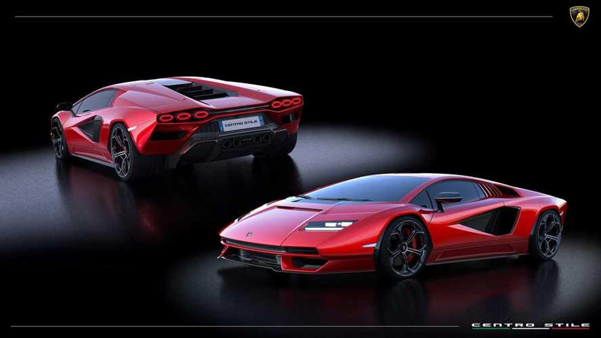 Lamborghini Countach 2021 colors
