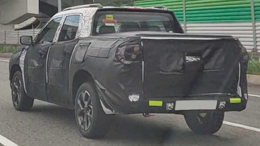 Flagra: Nova Chevrolet Montana aparece pela 1ª vez em testes
