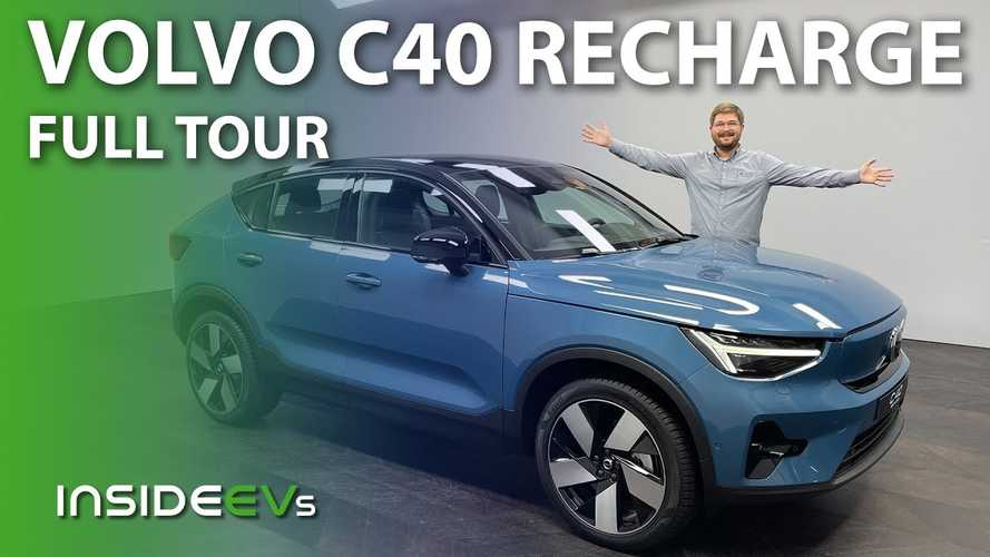 Our First Look At The 2022 Volvo C40 Recharge: Is It Worth $60K?