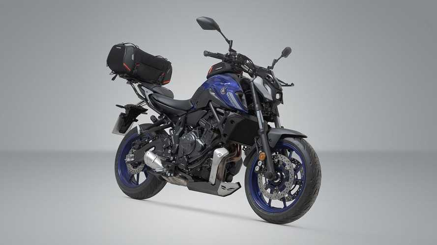 SW-Motech Releases Line Of Accessories For 2021 Yamaha MT-07