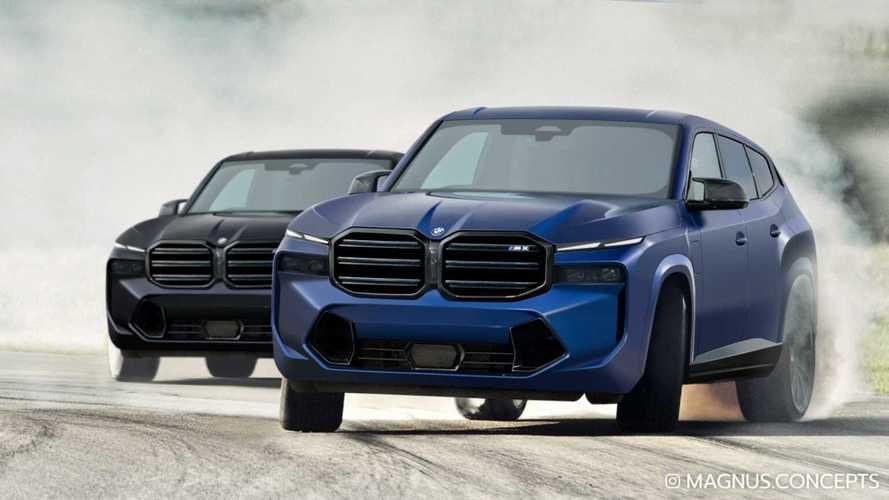 Elég jóképűnek ígérkezik a BMW XM, a gyártó jövőre érkező legerősebb modellje