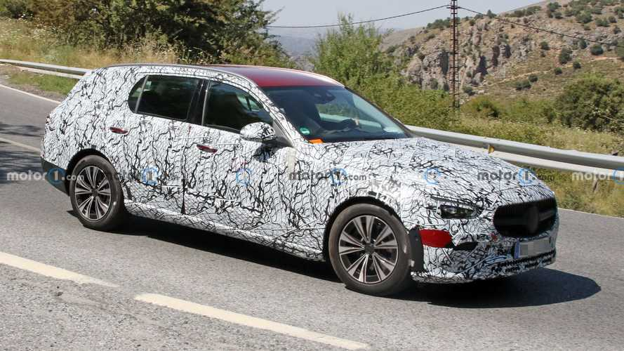 Mercedes C-Class All-Terrain Spied Hot Weather Testing