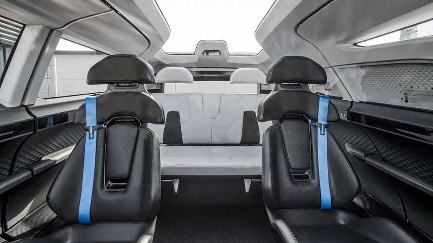 Porsche Vision Renndienst Concept Interior