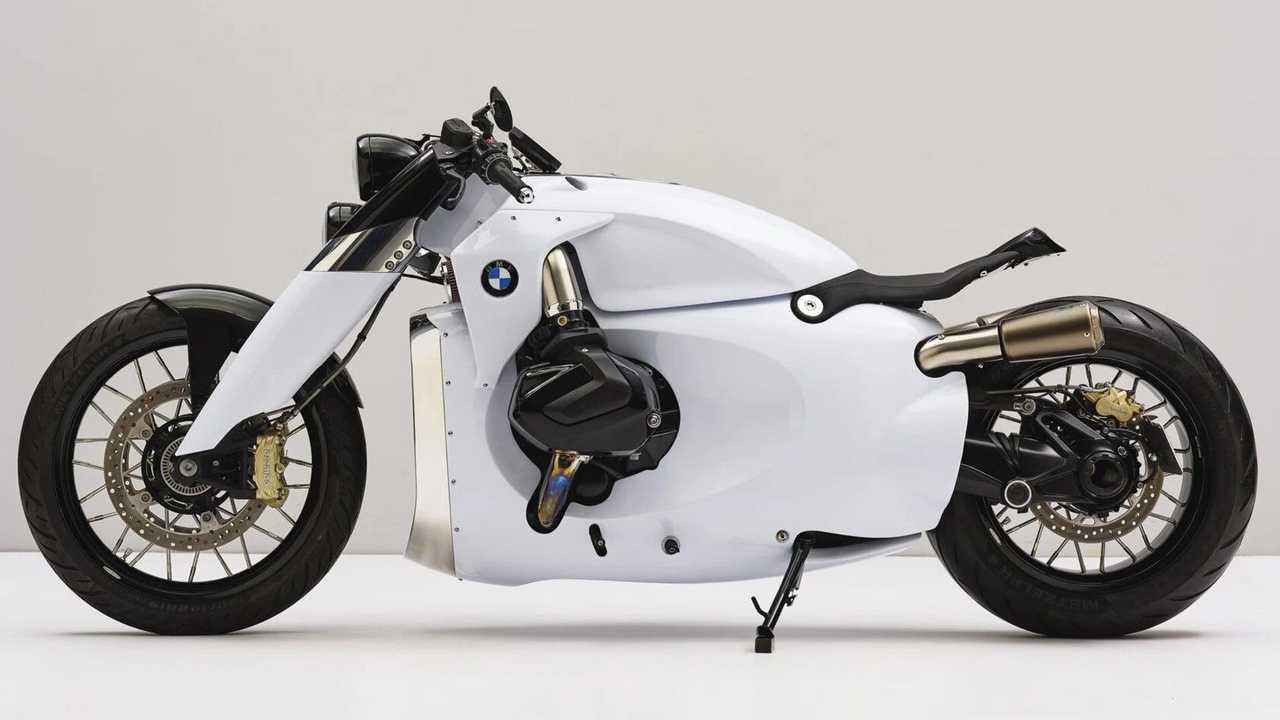 Reimagined: 2021 BMW R 1250 R - Side, Left