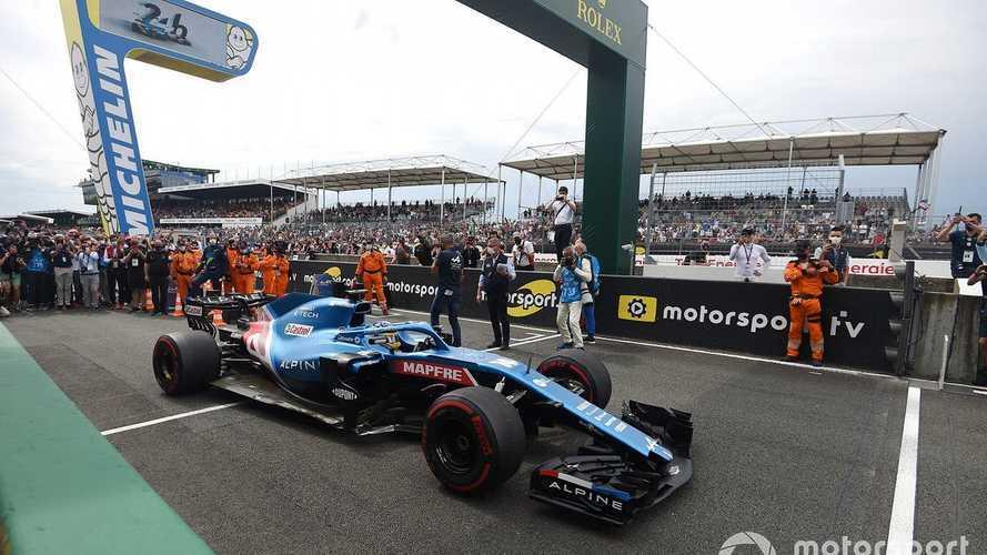 Alonso y Alpine hacen historia con un F1 en Le Mans