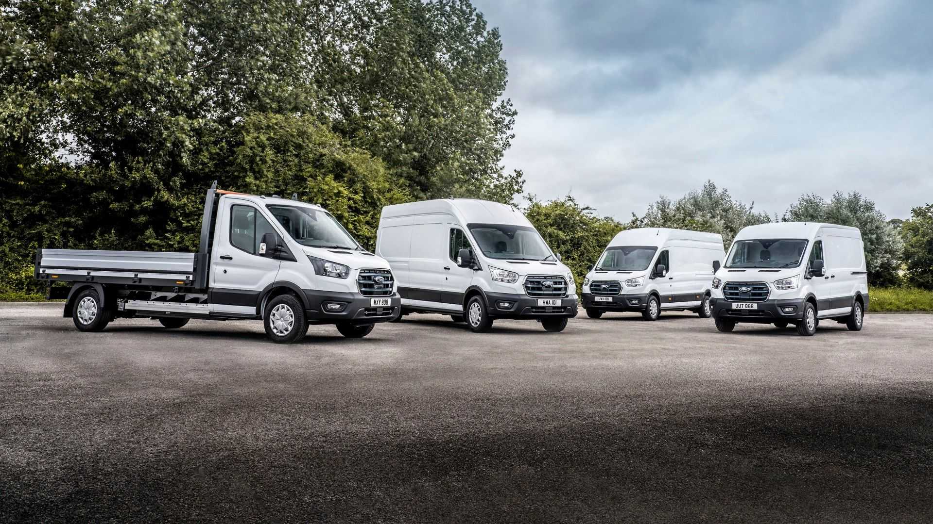 Ford E-Transit European specification 1