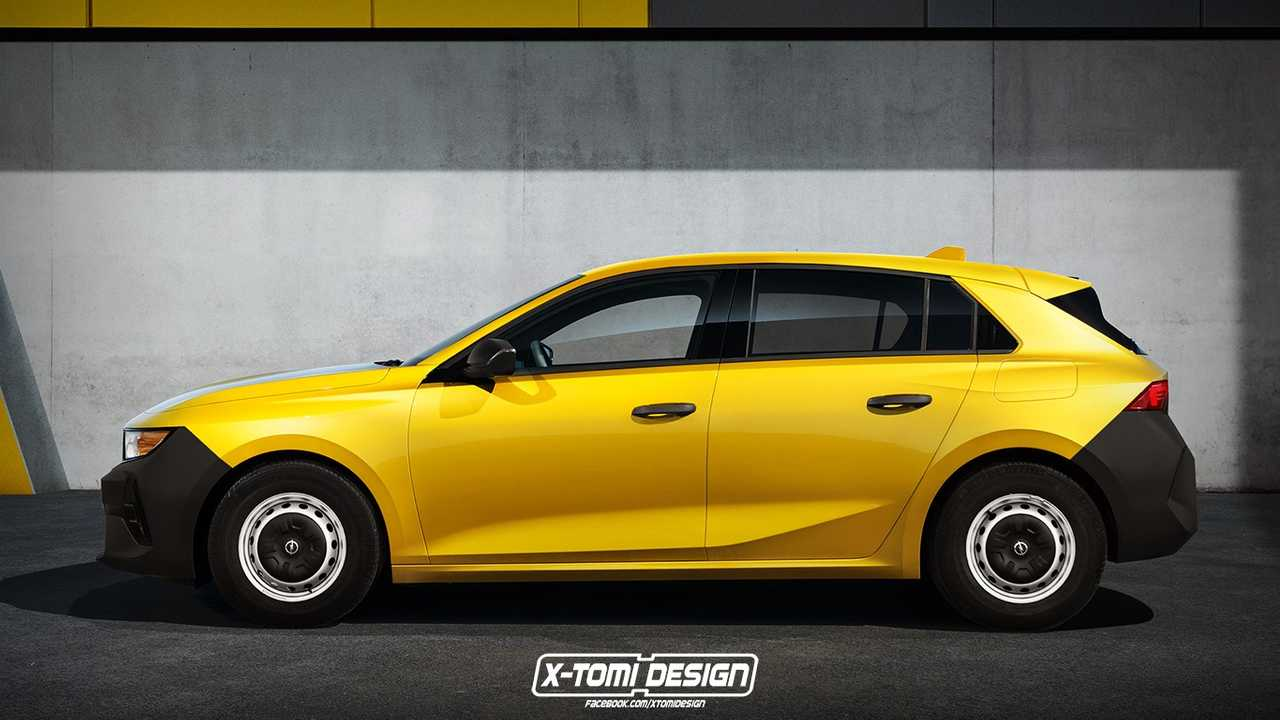 Opel Astra X-Tomi renderkép