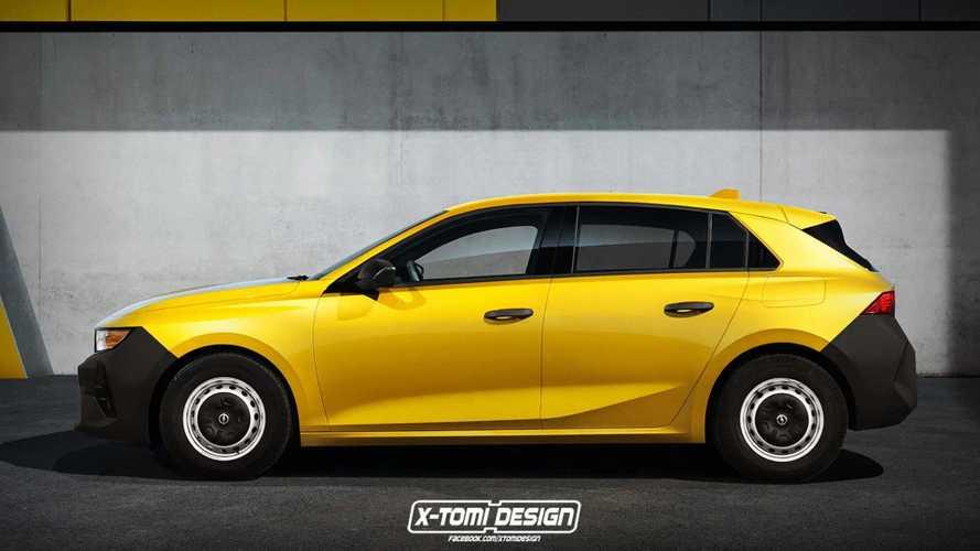 Érkezik a vadonatúj Opel Astra, így nézhet ki a fapados változata