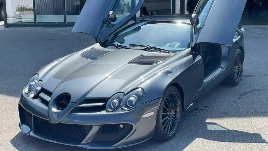 Tökéletes állapotban, iszonyatos áron eladó egy Mercedes-Benz SLR 722 McLaren Edition