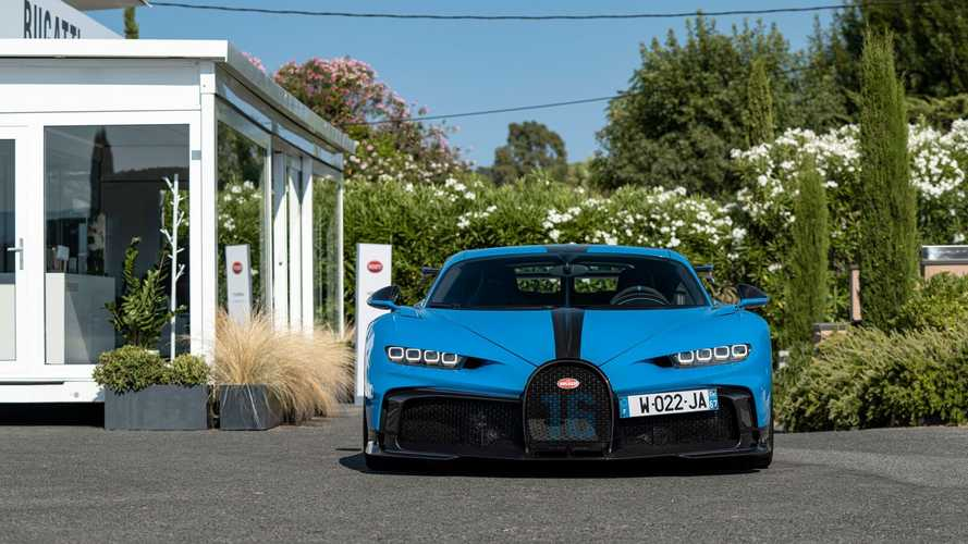 Bugatti propose d'essayer sa Chiron à Saint-Tropez