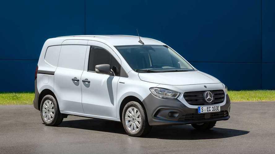 Электрический Mercedes–Benz eCitan появится на рынке в 2022 году
