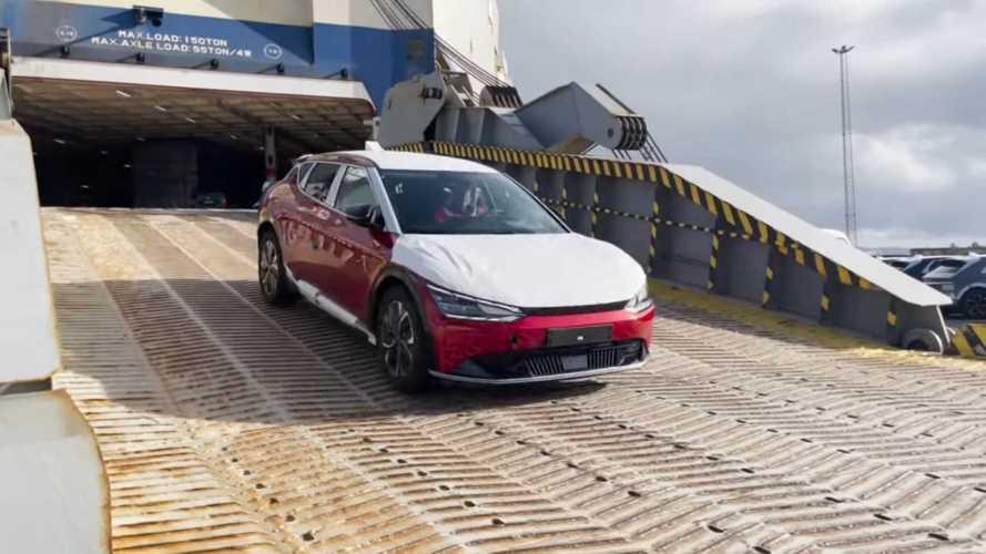 Kia EV6 Arrives In Norway