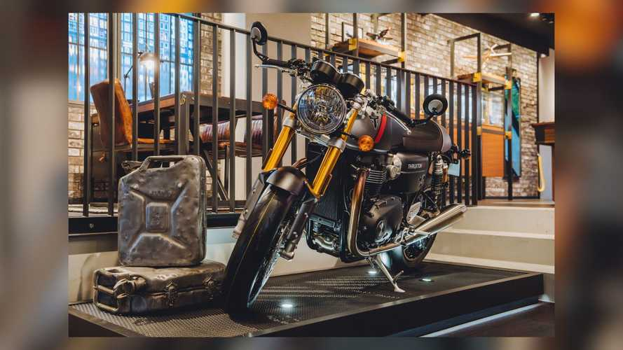 Triumph and Breitling Team Up