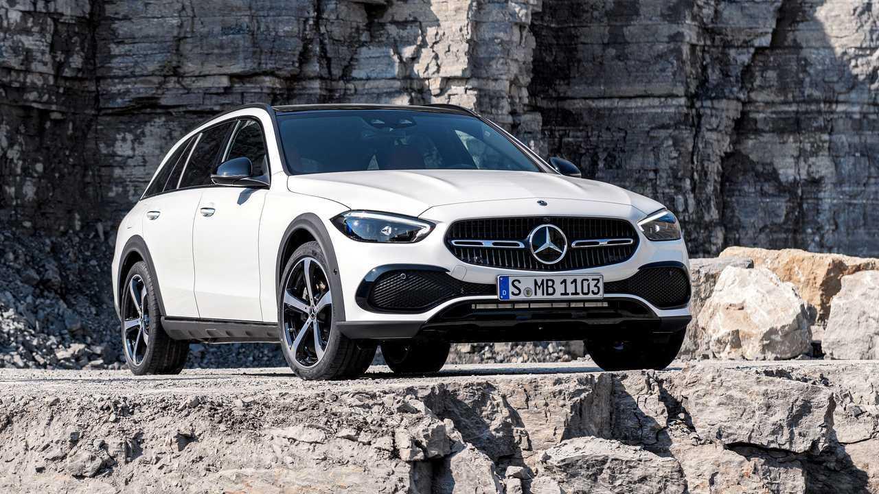 Mercedes-Benz C-osztályú terep (2021)