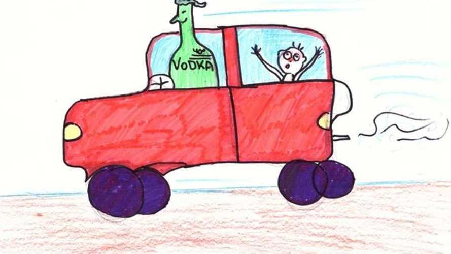 Зацените карикатуры с конкурса по безопасности дорожного движения