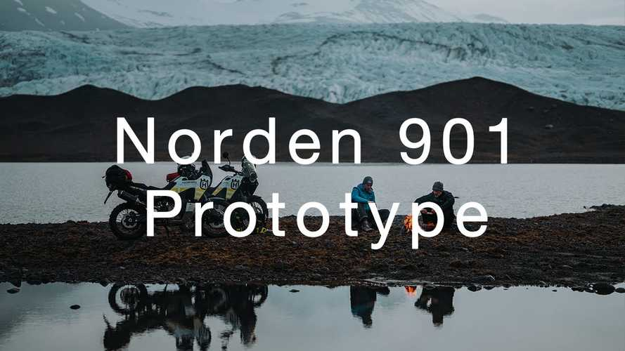 Watch Husqvarna Explore Iceland On A Pair Of Norden 901 Prototypes