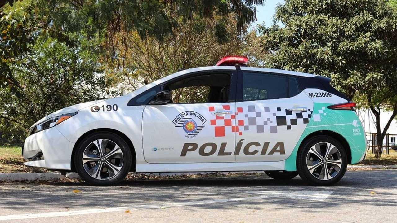 Nissan Leaf - viatura policia (3)