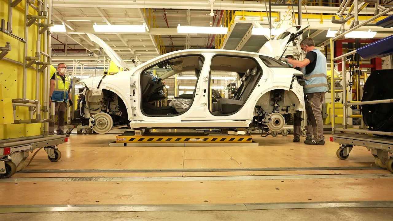 Lo stabilimento di Renault e Douai