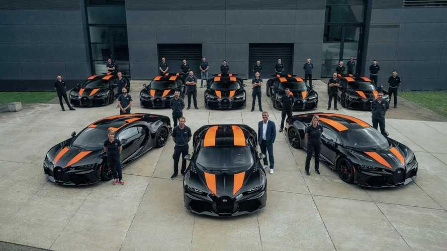 Prime consegne per le Bugatti Chiron Super Sport 300+: che foto!