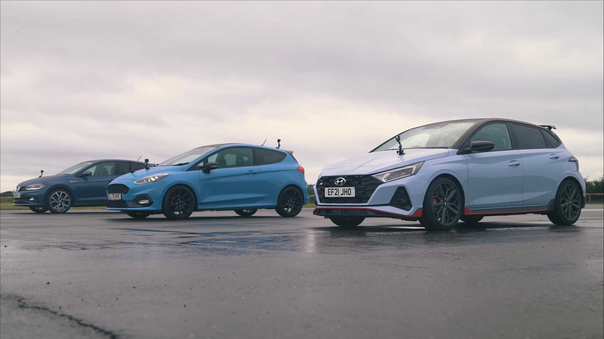 Fiesta ST, Polo GTI, I20 N Fight In Forbidden Hot Hatch Drag Race - Todayuknews - Todayuknews