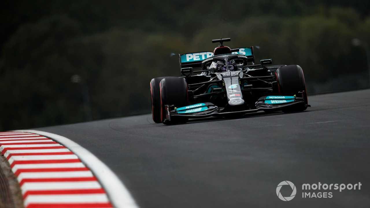 Lewis Hamilton at Turkish GP 2021