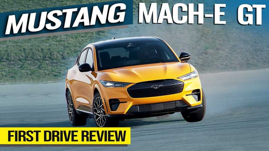 2021 Ford Mustang Mach-E GT First Drive: More Smiles Per Mile