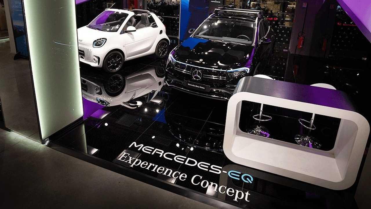 Il Mercedes-EQ Experience Concept di Roma