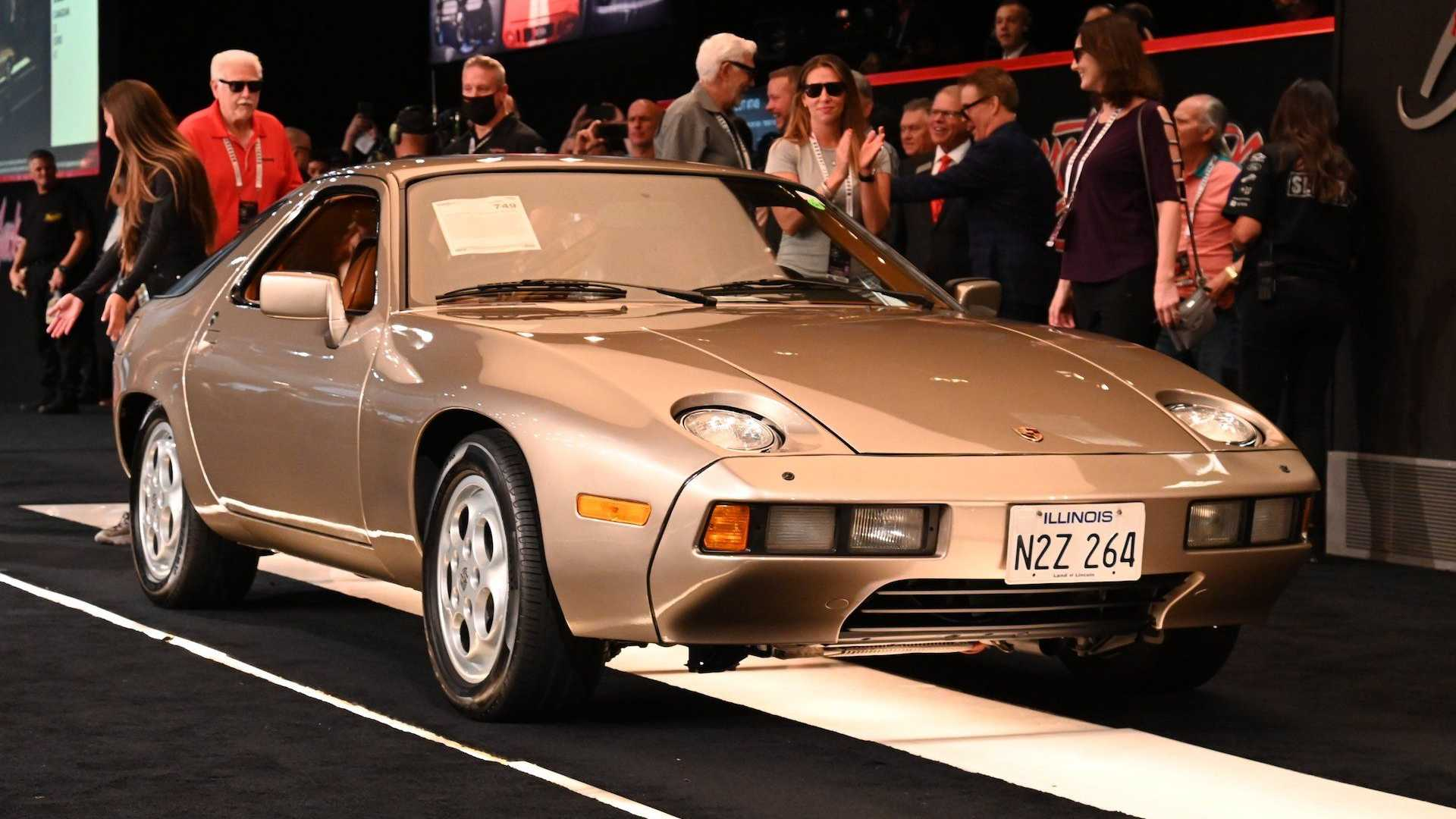 Porsche 928 From 'Risky Business' Sold For Way More Than We Expected