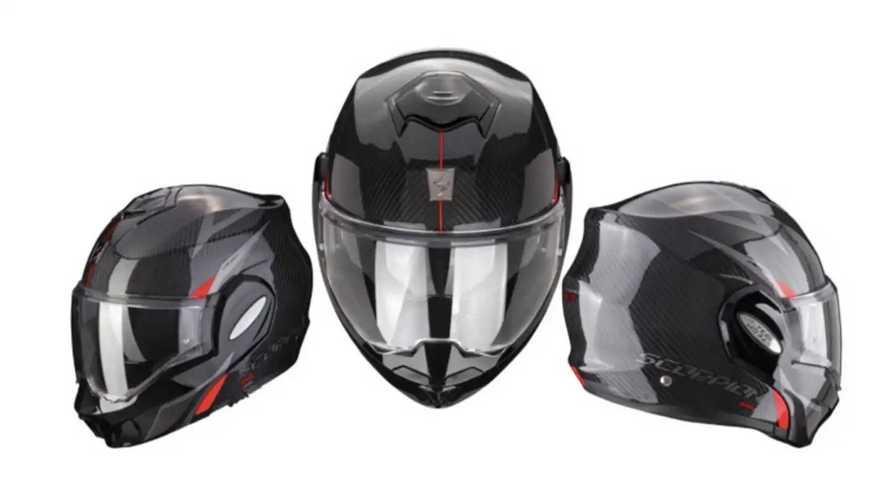 Scorpion Releases EXO-Tech Carbon Modular Helmet