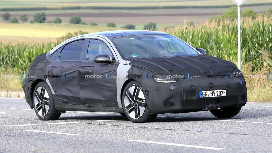 2023 Hyundai Ioniq 6 Spied On The Street In 24 Crystal Clear Photos