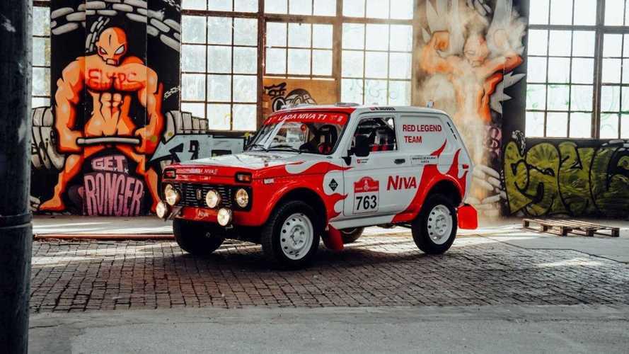 В Европе состоялась премьера Lada Niva для «Дакара»