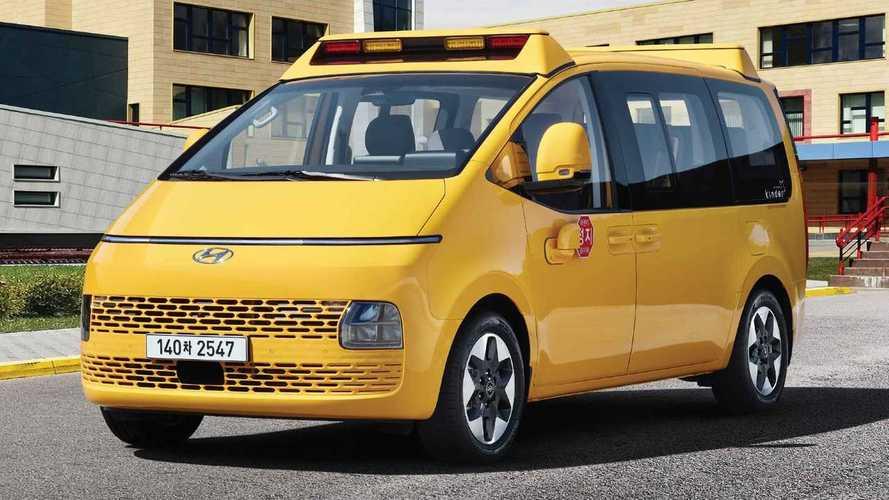 Hyundai Staria Kinder é a verdadeira perua escolar do futuro