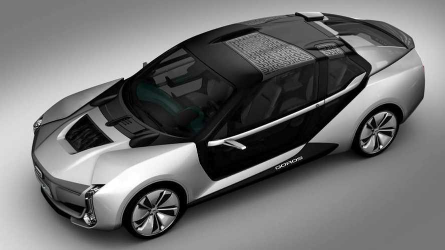Qoros 9 K-EV Concept Auto Shanghai