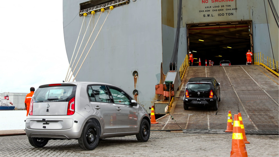 Modelos da Volkswagen exportados - Porto