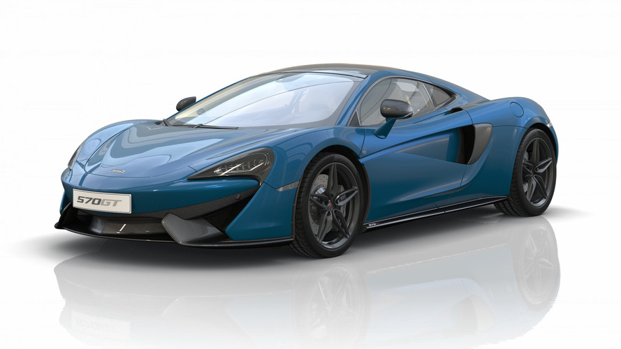 McLaren 570GT Commemorative edition, solo para China