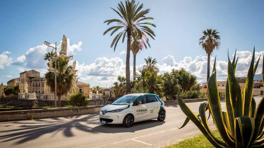 La Sicile adopte la Renault Zoé