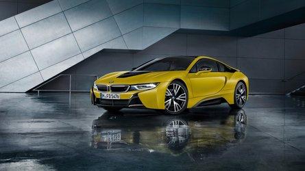 BMW i8 Coupé Protonic Frozen Yellow Edition, edición especial para China