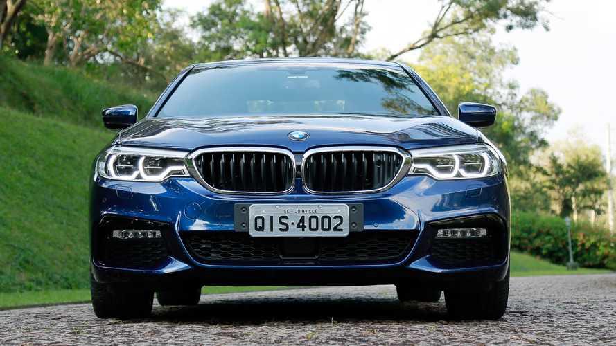 Nova geração do BMW Série 5 começa a ser vendida hoje no Brasil