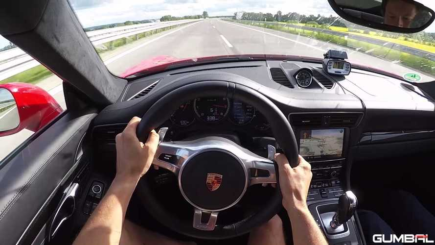 VIDÉO - 340 km/h au volant d'une Porsche 911 Turbo S