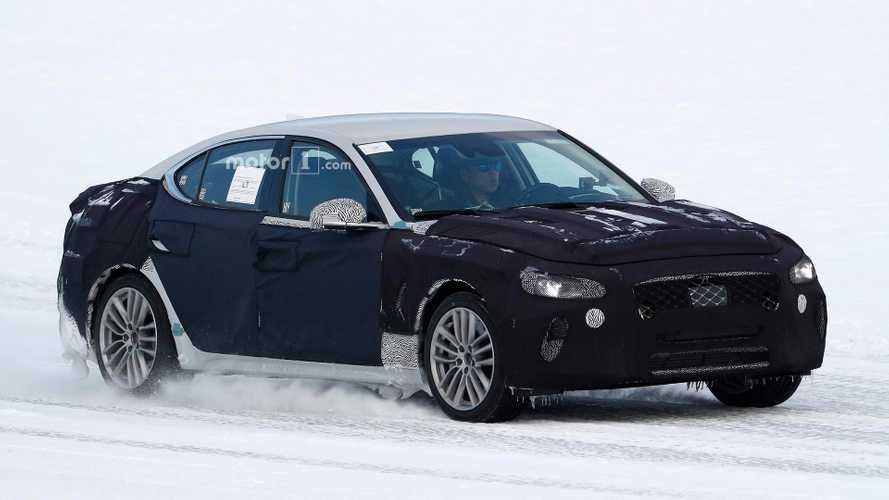 Genesis G70, Kia Stinger'dan hızlı olacak