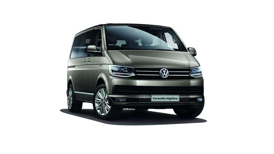 Dört tekerlekten çekişli Volkswagen Caravelle satışta