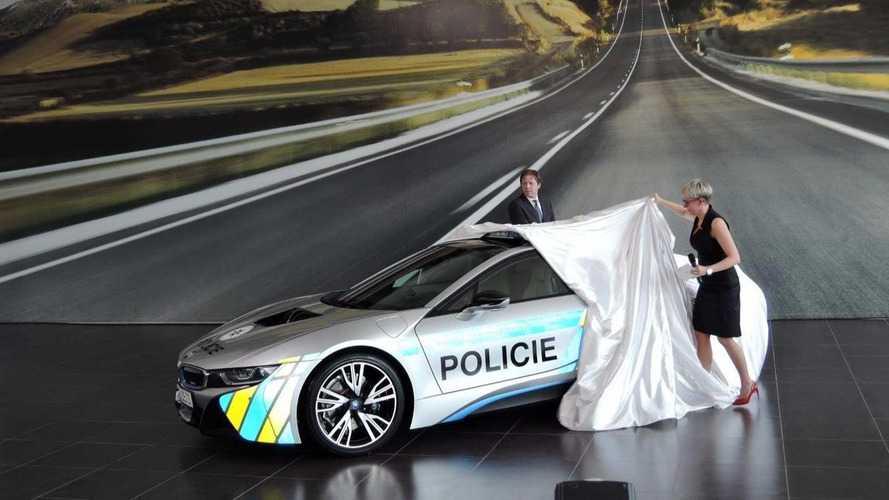 La police tchèque s'offre une BMW i8