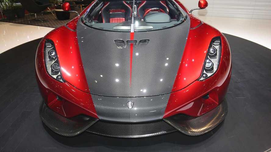 Koenigsegg Cenevre Otomobil Fuarı
