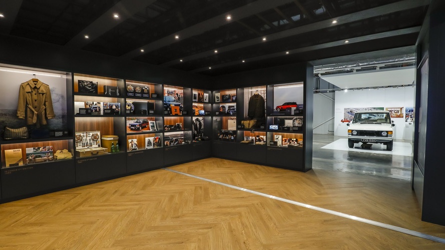 "Exposition ""The Story of Range Rover"""