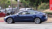 Tesla Model 3 fotos espia