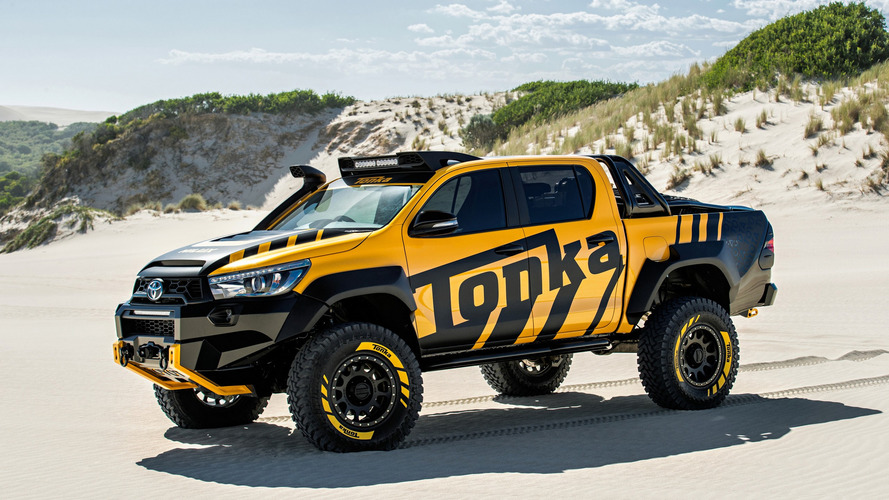 Toyota Hilux Tonka Concept Is A Childhood Dream Come True