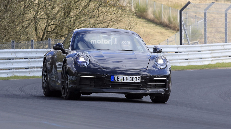 2019 Porsche 911 new spy photos