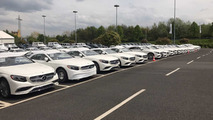 Brabus tesisindeki Mercedes-Maybach S650 Cabriolet'ler