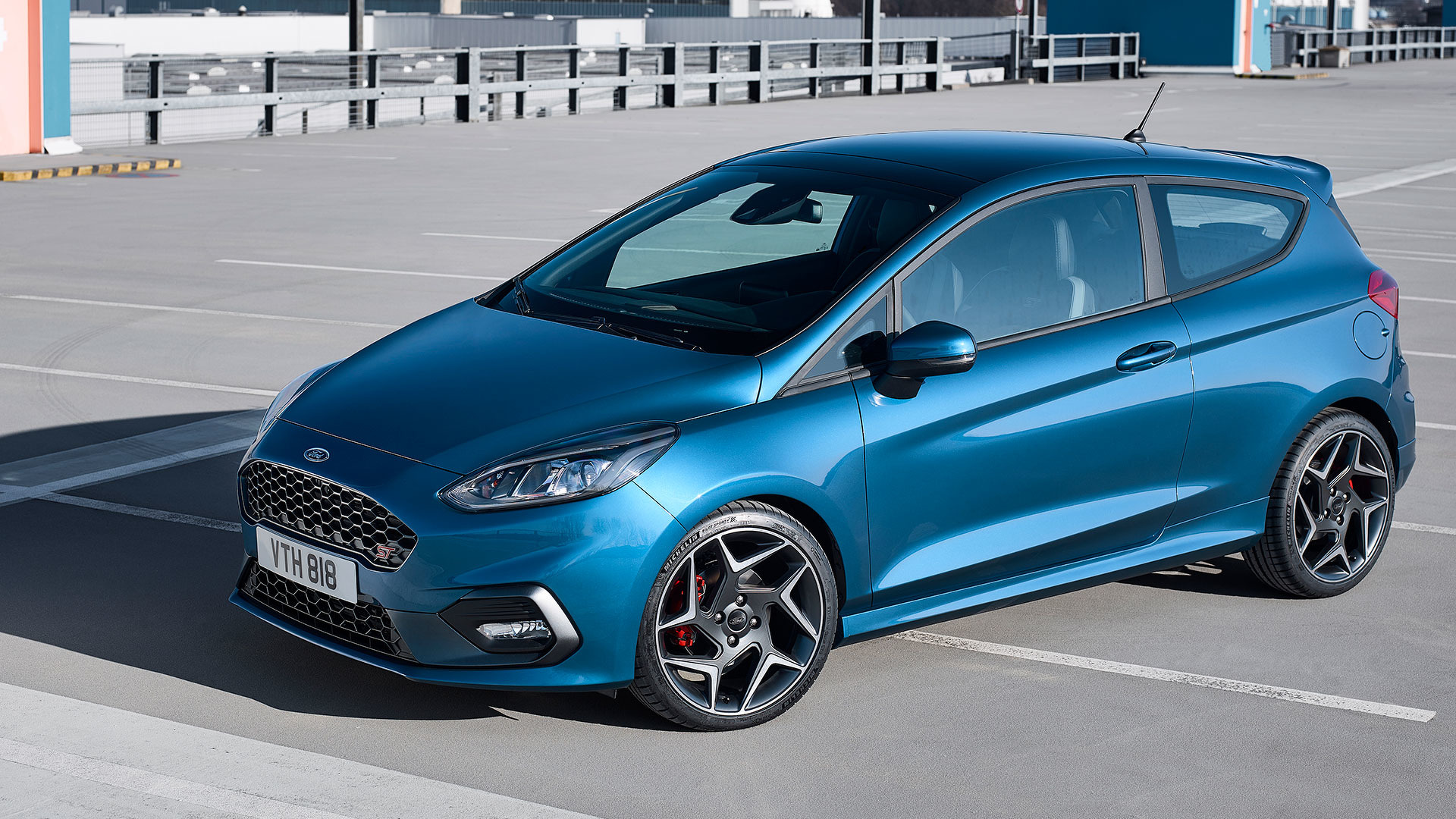 New ford fiesta st brings three cylinders to the hot hatch fight