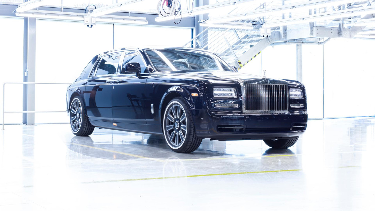 Rolls-Royce celebrates history of flagship Phantom